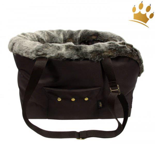 Hundetasche Roberto Brown Fur