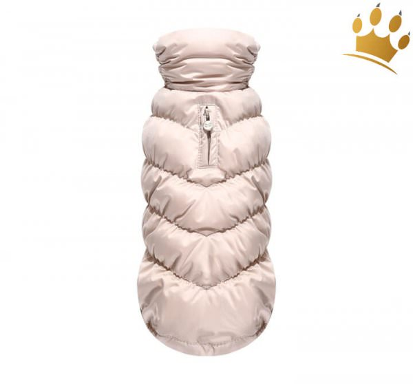 Puppy Angel Hundemantel Luxury Faux Down Rose