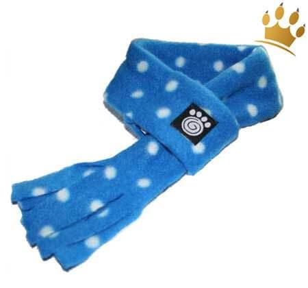 Hundeschal Dot Blue