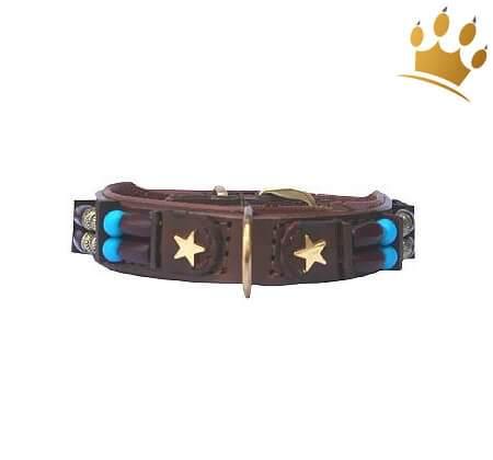 Hundehalsband Baby Brown Eagle 15mm