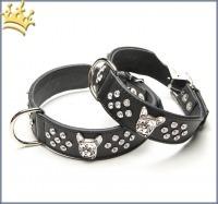Hundehalsband Bully Charmeur Strass