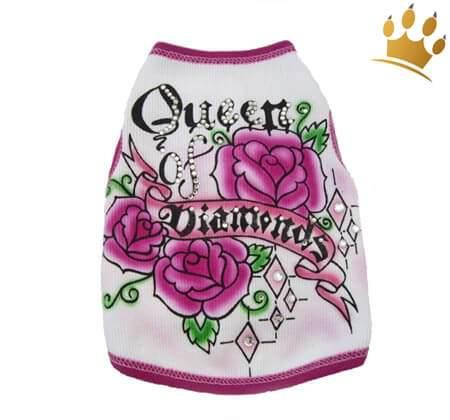 Hundeshirt Queen Diamonds