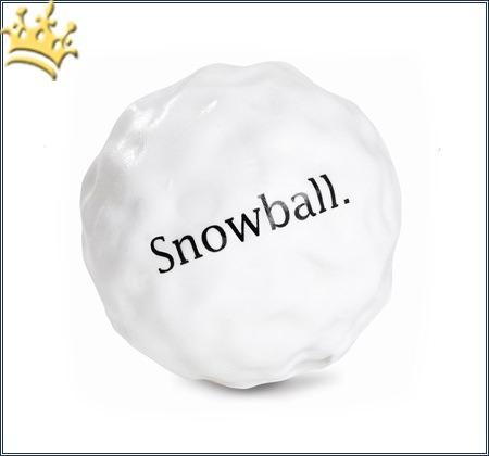 Hunde-Spielzeug Orbee-Tuff Snowball