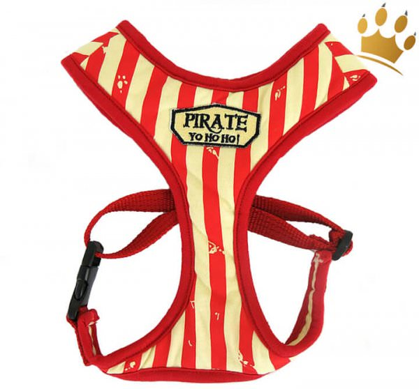 Softgeschirr Vintage Pirate Red