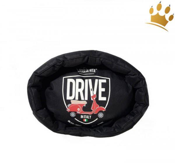 Hundebett Italy Drive Black