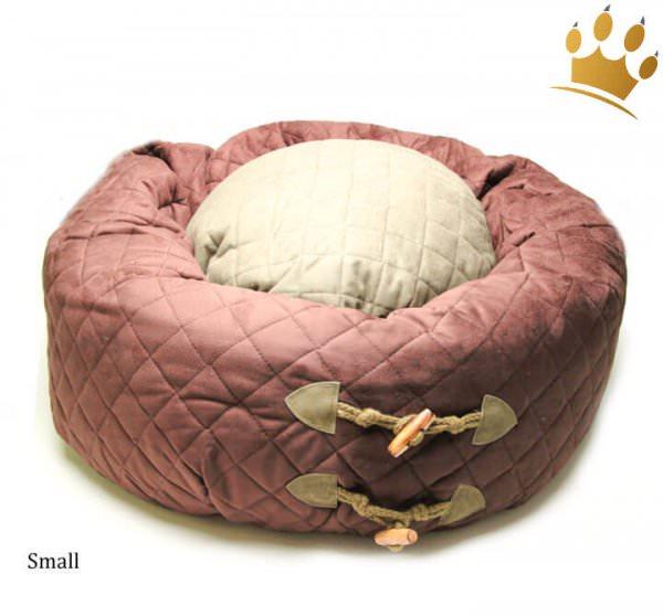 Hundebett Donut Rain Forest