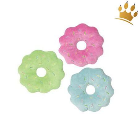 Hundespielzeug Donut