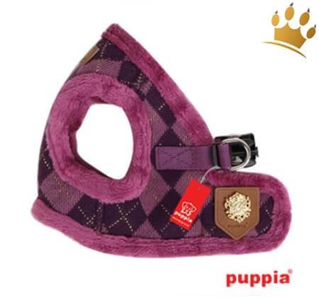 Puppia Step In Geschirr Argyle Mode Purple