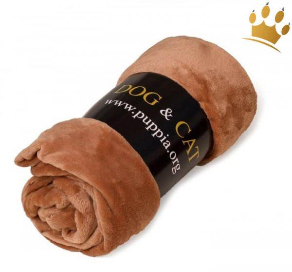 Hundefleecedecke Dog & Cat Braun
