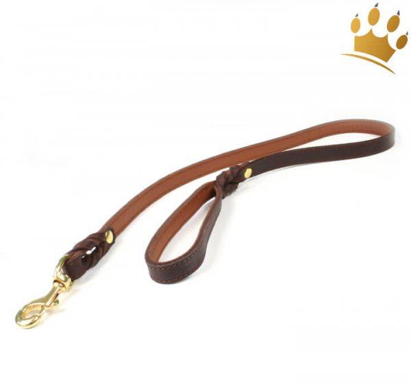 Hundeleine Luxor Braun 100cm