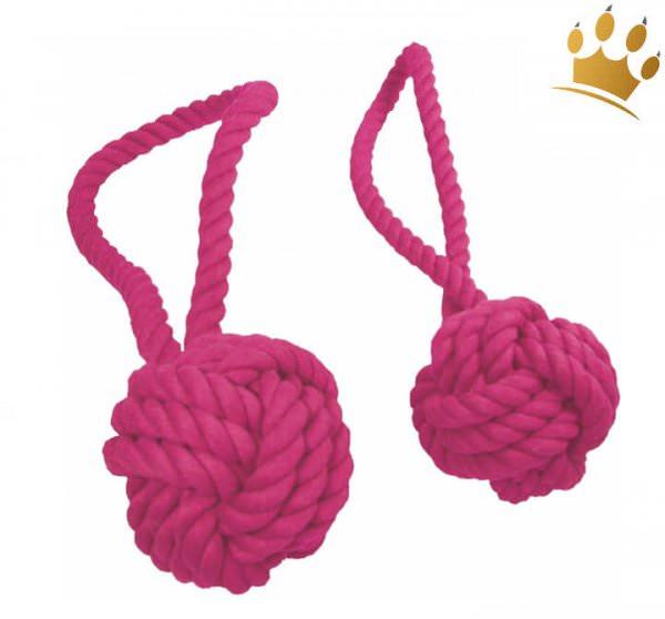 Hundespielzeug Tauball Pink