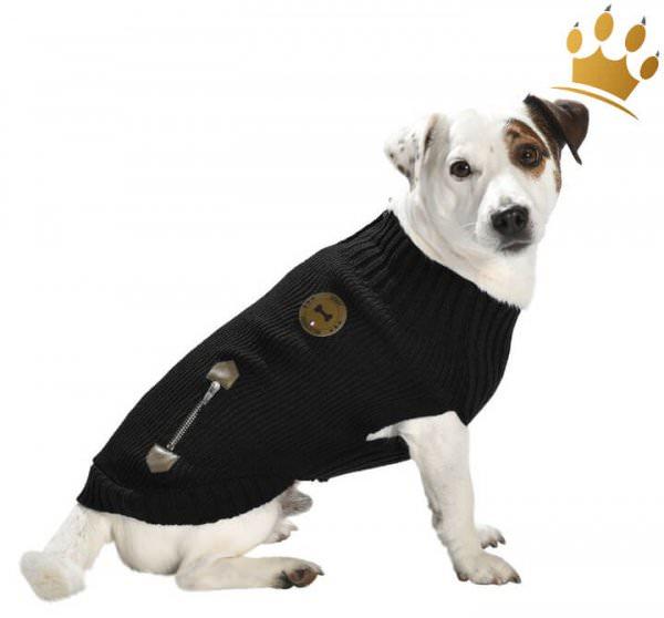Hundepullover Chester Schwarz