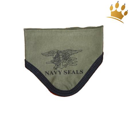 Hunde-Bandana Navy Seals