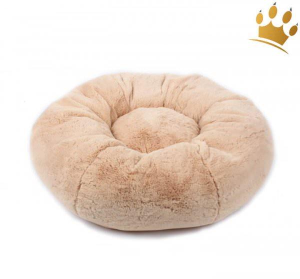 Hundebett Donut Round Latte Macchiato
