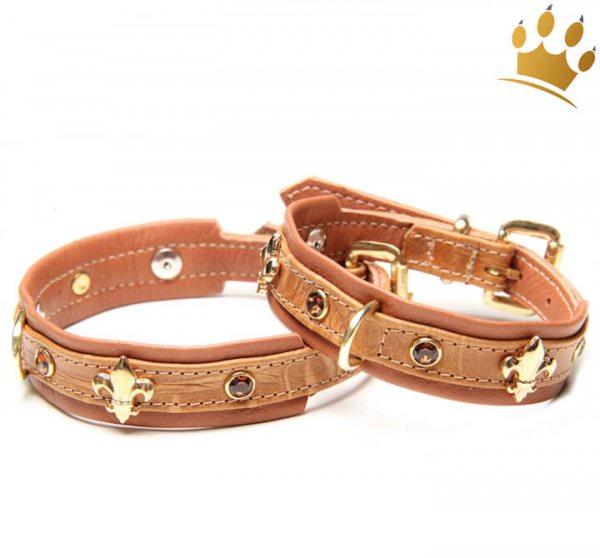 Hundehalsband Las Palmas Cognac
