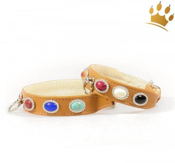 Hundehalsband Bijou Petit Cabochon