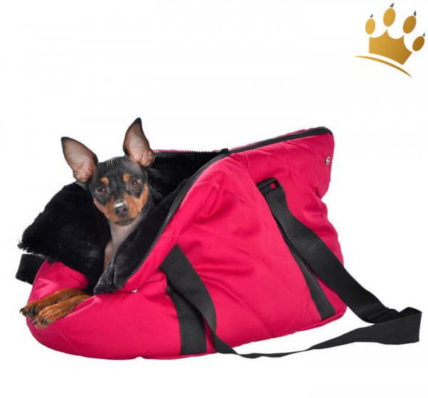 Hundetasche Two in One Moelleux Fuchsia