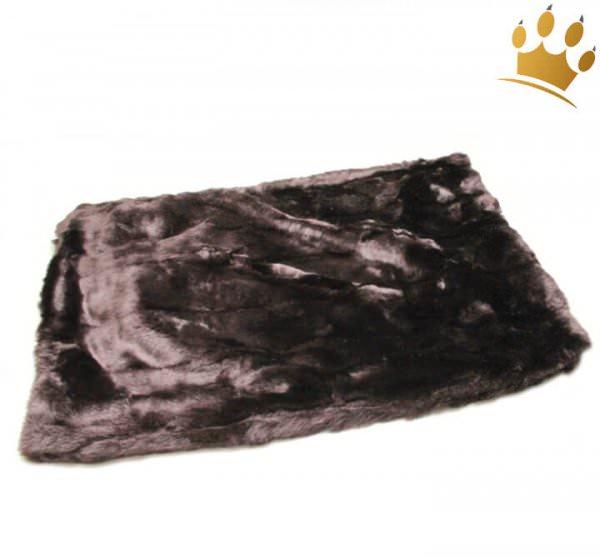 Hunde Cuddle Plaid Dark Schoko