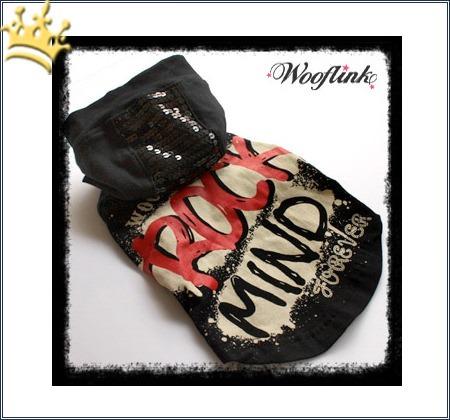Wooflink Hunde-Shirt Rock Mind