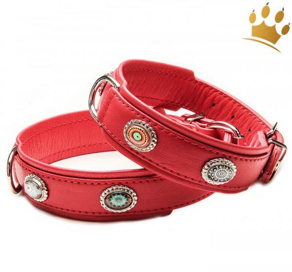Hundehalsband Ibiza 80 Rot