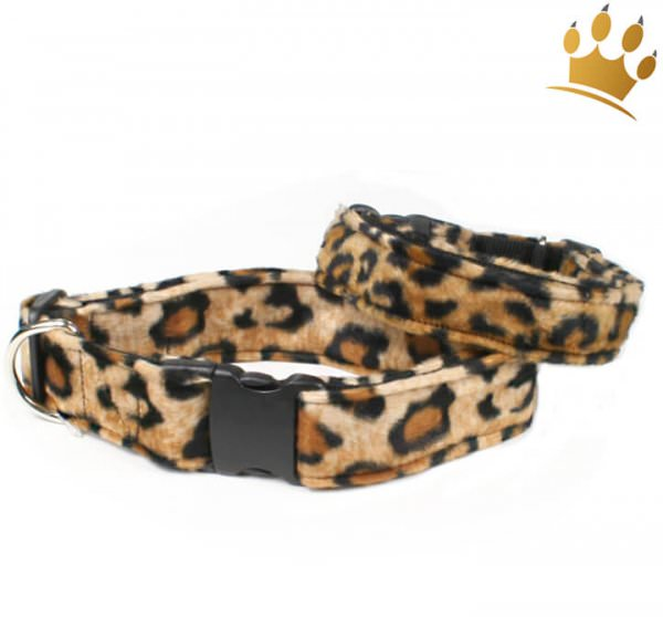 Fellhalsband Leopard
