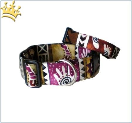Hundehalsband Inka-Look