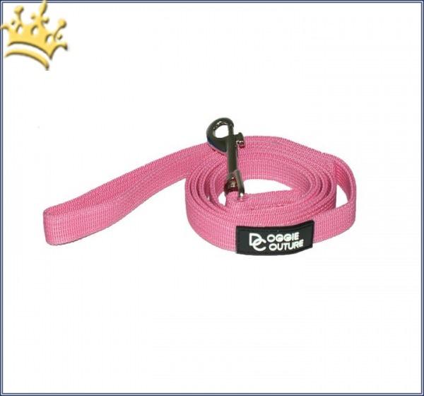 Doggie Couture Nylonleine Pink