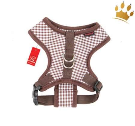 Softgeschirr Baby Checkered Braun