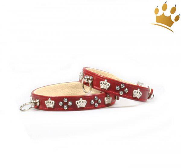 Hundehalsband Royal Empire Rot