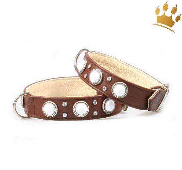 Hundehalsband Malaga Braun