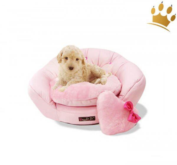 Hundebett Lovely Pink Star