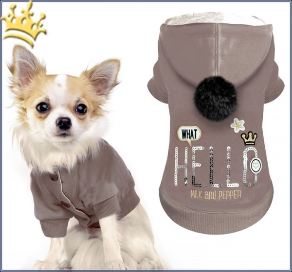 Milk & Pepper Hundesweater Pop Up