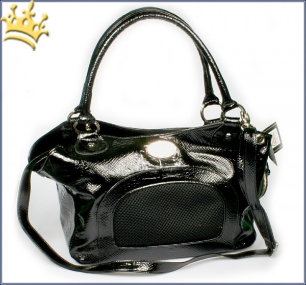 Hundetasche Coccodrillo Elegante Black