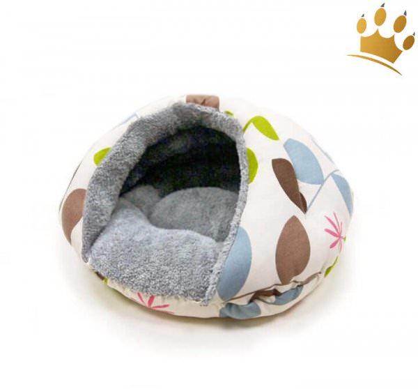 Hundehöhle Cuddle Soft Dots