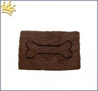 Dirty Dog Doormat Braun