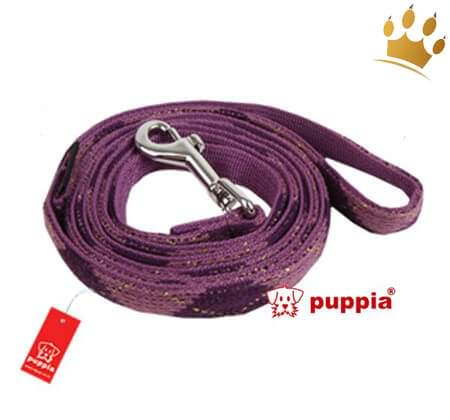 Puppia Hundeleine Argyle Mode Purple