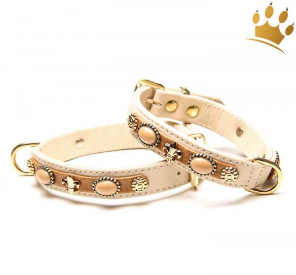 Hunde-Lederhalsband Gracia de Luxe