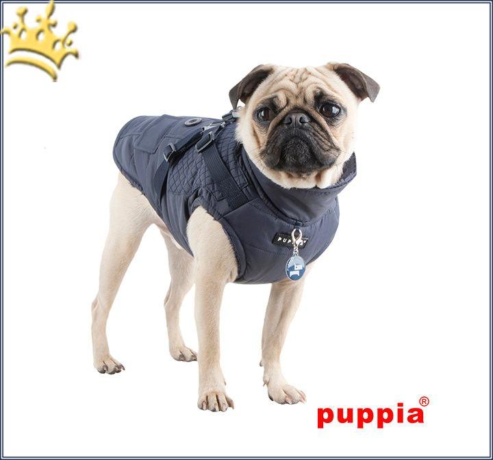 puppia hundeweste wilkes navy hundebekleidung kleine hunde hundem ntel hundebekleidung. Black Bedroom Furniture Sets. Home Design Ideas