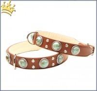 Hundehalsband Palma Deluxe Braun