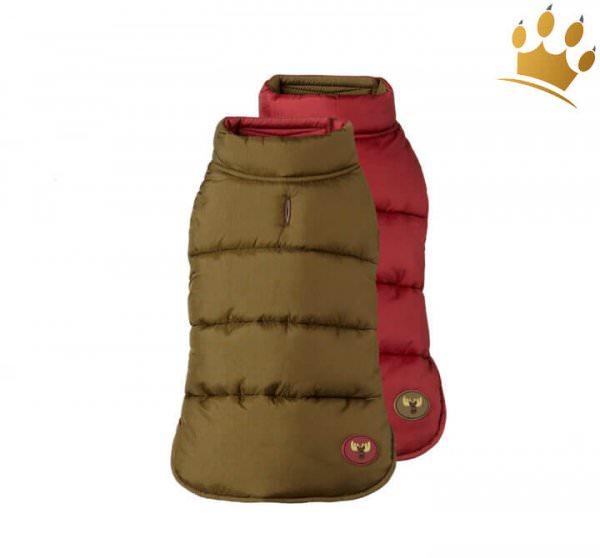 Hundewende-Weste Cortina Khaki/Boudeaux
