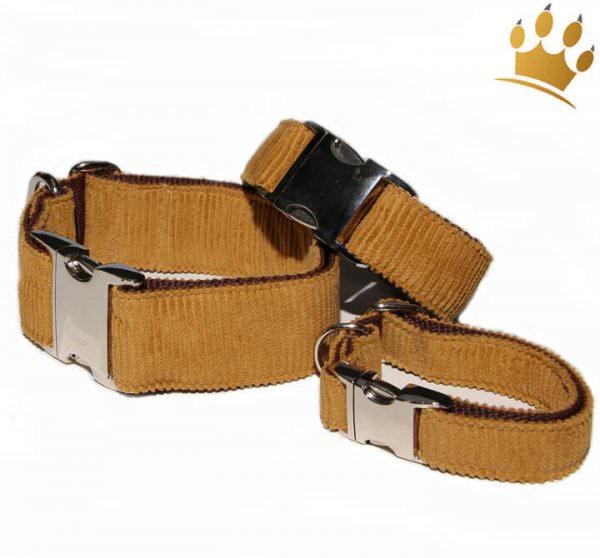 Hundehalsband Ritmo Deluxe Maisgelb