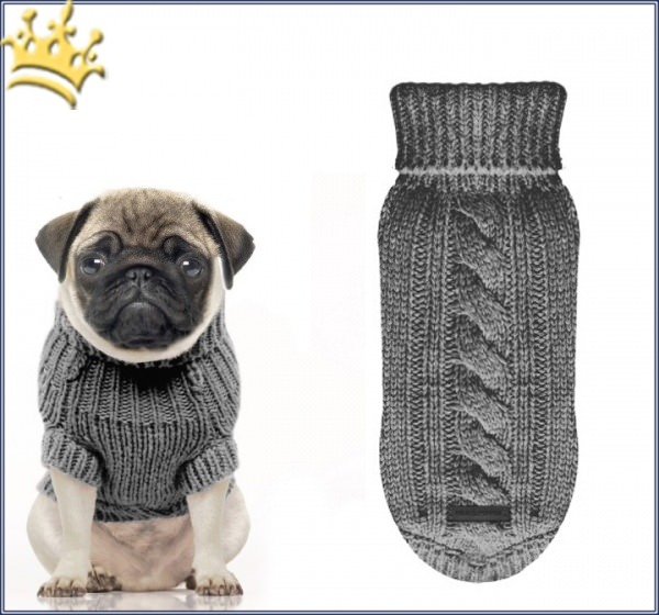 Milk & Pepper Hundepullover Irish Gris