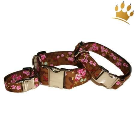 Hundehalsband Little Rose