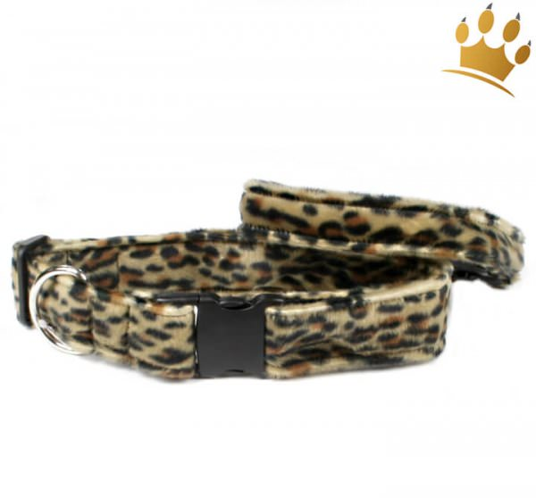 Fellhalsband Panther Dark