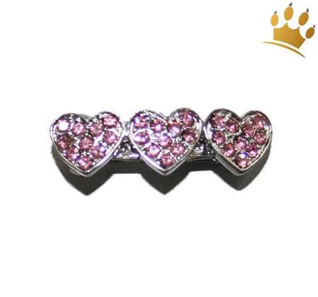 Lovely Heart Hairclip rosa