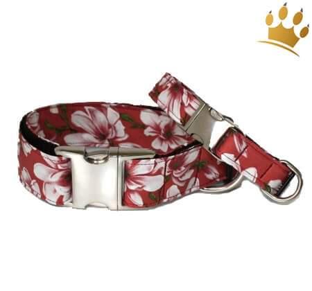 Hundehalsband Lotus