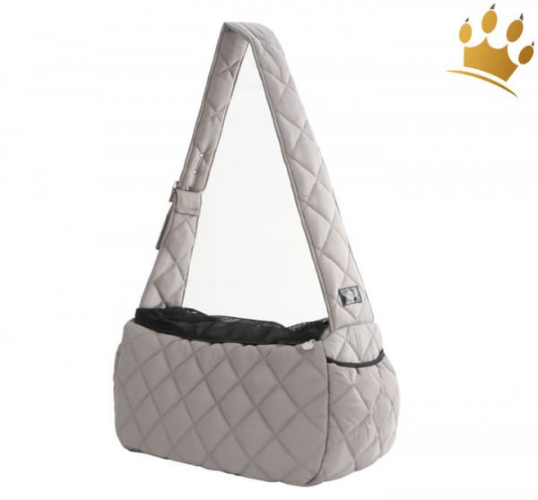 Puppyangel Hundetasche Luxury Sling Grau