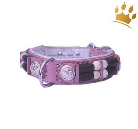 Hundehalsband Baby Pink Eagle 15mm