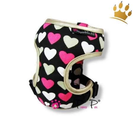Hundegeschirrset 4 in 1 Love Heart