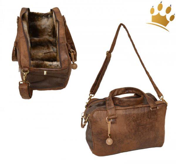 Hundetasche St. Tropez Limited Edition Braun